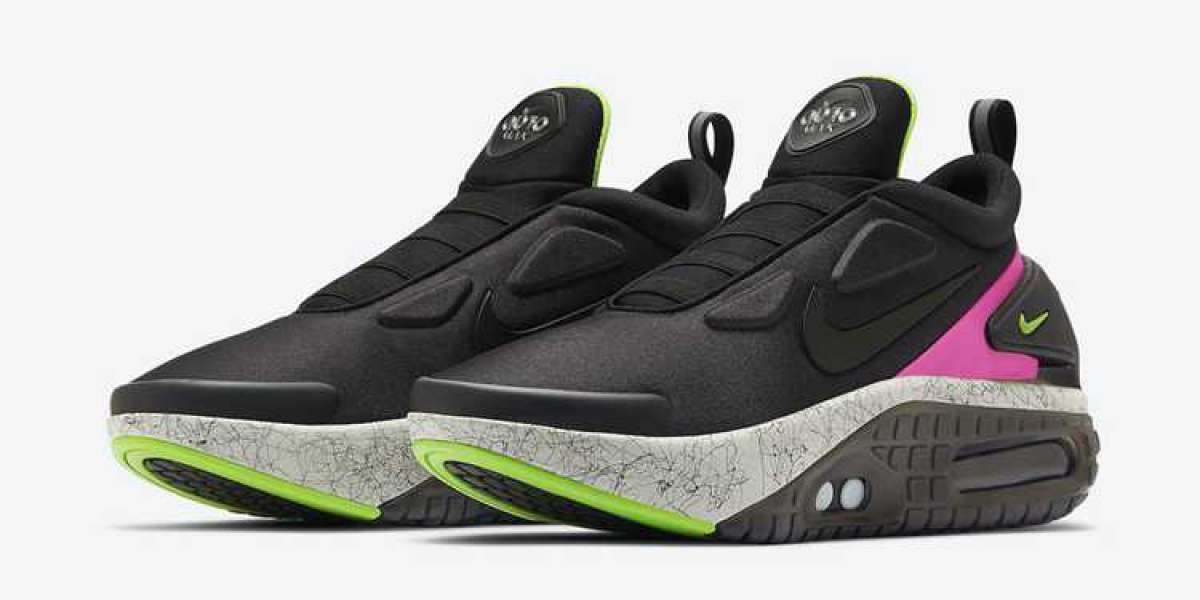 """CZ6802-001 Nike Adapt Auto Max """"Berry"""" Basketball Shoes Drops September 10th"""