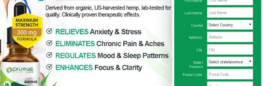 What is Divine Ease CBD Oil UK? Official Website Buy Now!