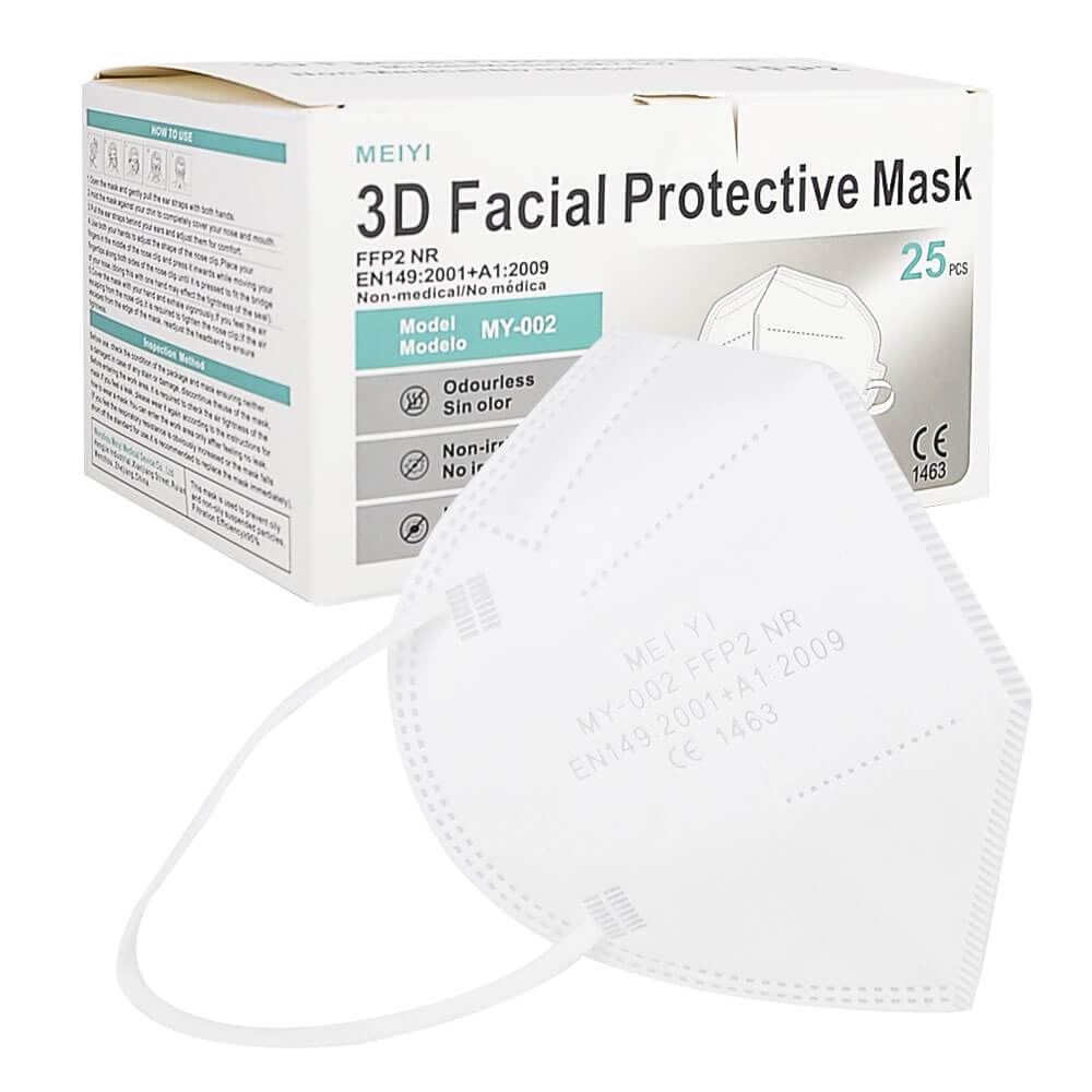 FFP2 Mask with CE certificate - Meiyi - OdemShop.com