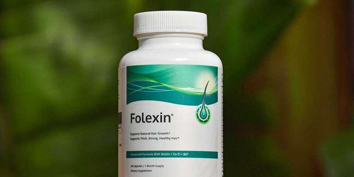Stop hair loss with Folexin