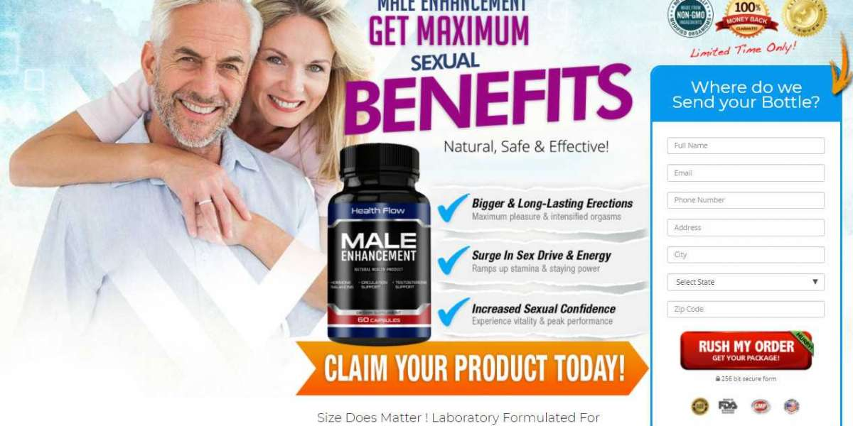 Health Flow Male Enhancement USA Price, Benefits, Reviews & Where To Buy?