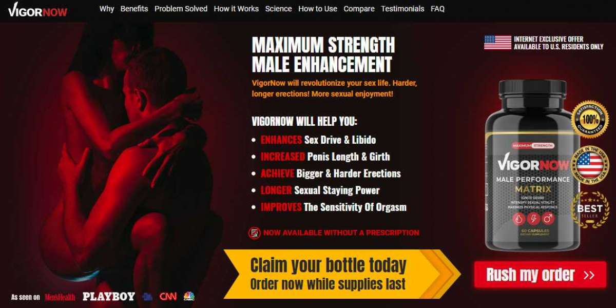 VigorNow Male Enhancement Review – Its Really Works orScam?