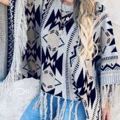 The Tanya Aztec Poncho Profile Picture