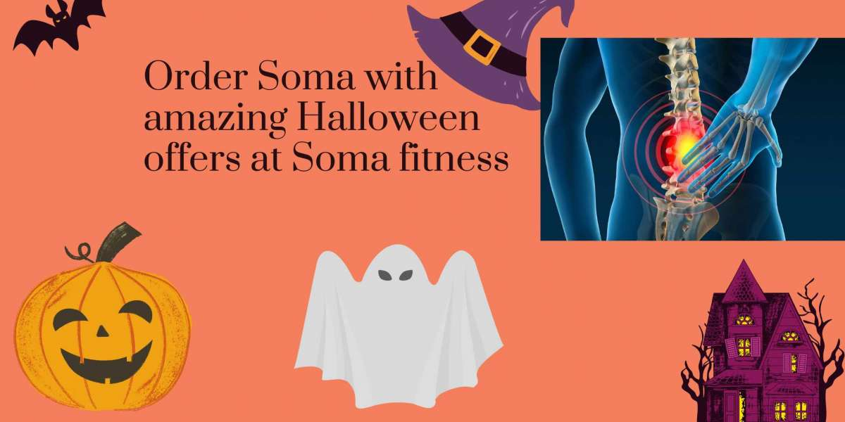Order Soma with amazing Halloween offers at Soma fitness
